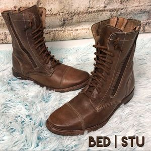 BED | STU Cobbler Series Leather Combat Boots  6